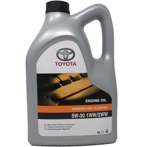 Toyota 5W-30 PFE C3 Synthetic Engine Oil 08880-83477 08880-83478