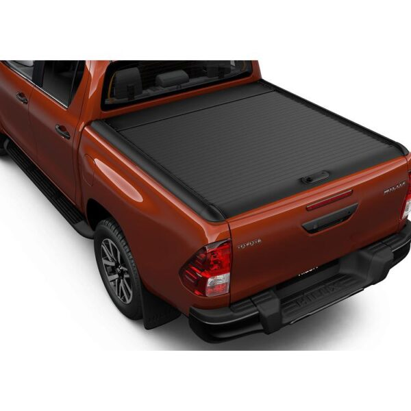 Toyota Hilux 2015-Present Black Alu Roll Cover Double Cab PW3B00K022 / 867