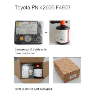 Toyota Verso (2003-2009) Tyre Repair Kit 42606F4903