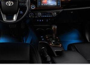Toyota Hilux (2015-Present) Footwell Illumination - Blue PC5230K008