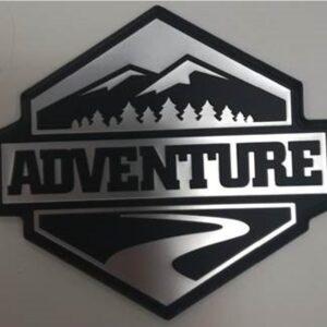 "Toyota Rav 4 (2012-2018) ""Adventure "" Emblem Set PW1890R001"