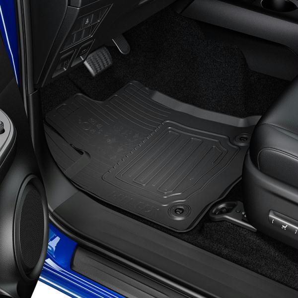 Toyota Hilux (2015-Present) Rubber Floormats PW2100K010