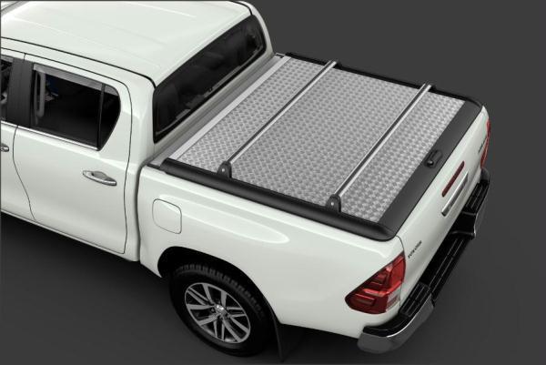 Toyota Hilux (2015-Present) Deck Cross Bars For Aluminium Tonneau Cover PW3010K001