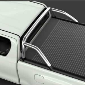 Toyota Hilux (2015-Present) High Over Bar For Aluminum Roll Cover PW3B00K002