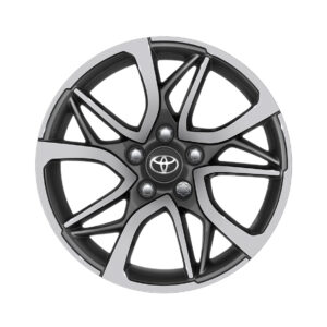 "Toyota Rav 4 (2012-2018) 17"" 5 Double-Spoke Anthracite Machined PW4570R000MG"