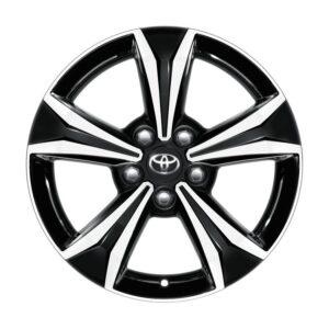 "Toyota C-HR (2017-Present) Alloy Wheel 17"" - Black Machined PW45710001MB"