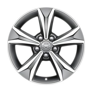"""Toyota C-HR (2017-Present) Alloy Wheel 17""""- Anthracite Machined PW45710001MG"""