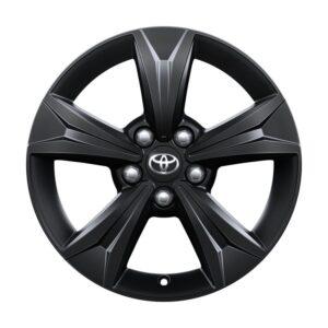 "Toyota C-HR (2017-Present) Alloy Wheel 17"" - Black Matte PW45710001YB"