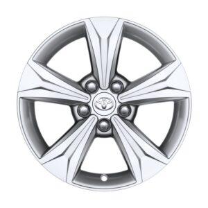 "Toyota C-HR (2017-Present) Alloy Wheel 17"" - Silver PW45710001ZC"