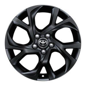 "Toyota C-HR (2017-Present) Alloy Wheel 18"" - Black Matte PW45710003YB"