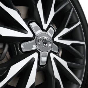 Toyota C-HR (2017-Present) Centre Cap - Plastic - Silver PW45810001