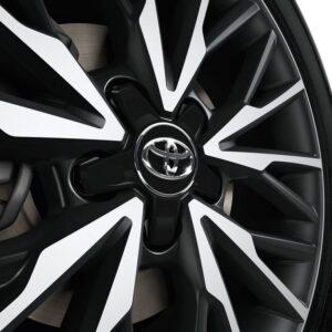 Toyota C-HR (2017-Present) Centre Cap - Plastic - Black Matt & Chrome PW45810002