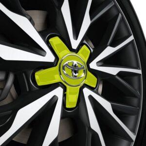Toyota C-HR (2017-Present) Centre Cap - Plastic - Lime Green PW45810005