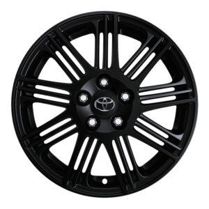 """Toyota Rav 4 (2012-2018) 18"""" Pitlane Ii Matte Black Alloy Wheel PZ406X0679BM"""