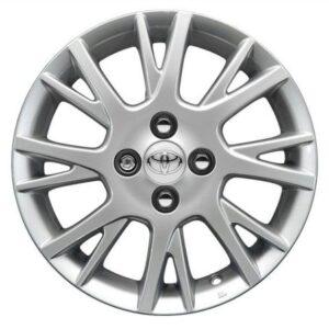 "Toyota IQ (2008-2015) Aurora 15"" Sterling Silver PZ474I0671ZF"