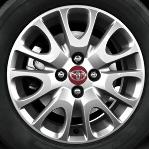 "Toyota Yaris (2013-Present) Alloy Wheel 15"" - Standard Silver PZ49PB0670CQ"