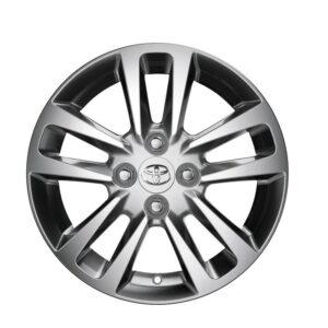 "Toyota Yaris (2005-2013) Alloy Wheel 15"" - Light Grey PZ49PB0671CE"