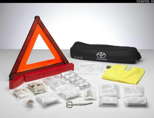 Toyota Yaris (2013-Present) Safety Kit Combi Bag Toyota PZ49S01EA0EU