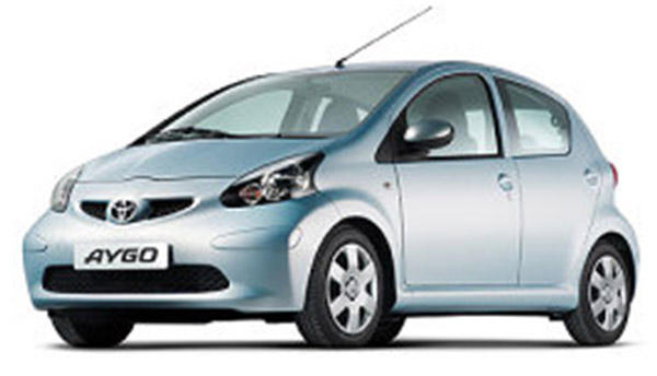 Toyota Aygo MK1 Parts and accessories